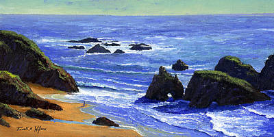 Painting - Pacific Solitude by Frank Wilson