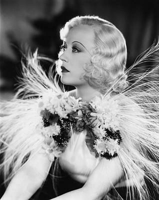 Page Miss Glory, Marion Davies, 1935 Art Print by Everett