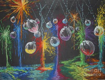 Baloon Painting - Paintball Party by Marlene Kinser Bell