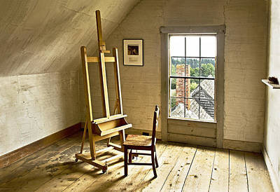 Art Print featuring the photograph Painters Loft by Gordon Ripley
