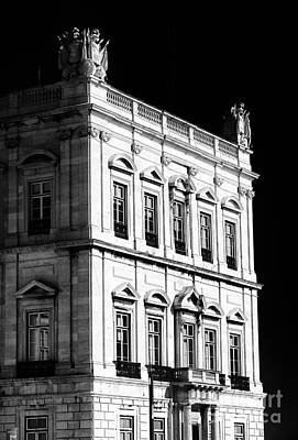 Black Commerce Photograph - Palace Details by John Rizzuto