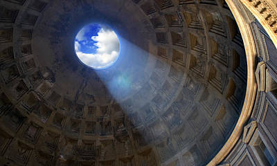 Photograph - Pantheon by Al Hurley