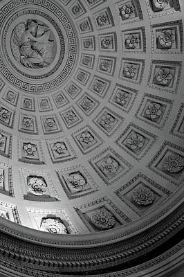 Photograph - Pantheon Dome by Sebastian Musial