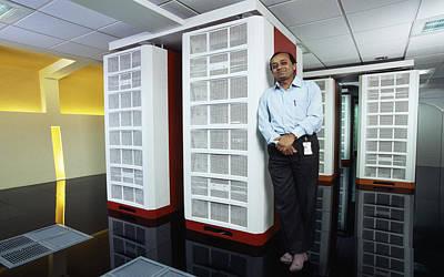 Processor Photograph - Param Padma Supercomputer by Volker Steger