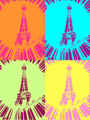 Paris In Vegas Art Print by Amber Hennessey