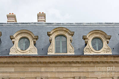 Photograph - Parisian Rooftop by Fabrizio Ruggeri