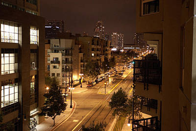 Photograph - Park Blvd Night by John Noel