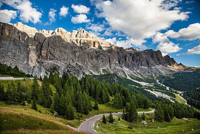 Gardena Photograph - Passo Gardena by Fibru Photography