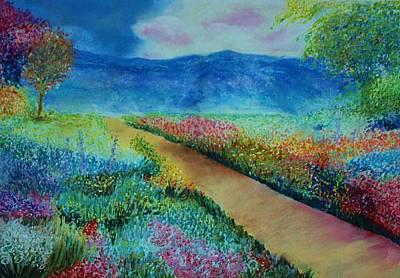 Patricia's Pathway Art Print