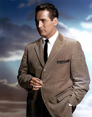 1950s Fashion Photograph - Paul Newman by Everett
