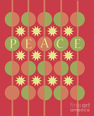 Peace Art Print by HD Connelly