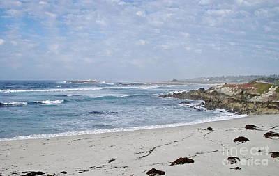 Photograph - Pebble Beach by Carol  Bradley