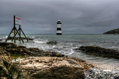 Penmon Point Art Print by Adrian Evans