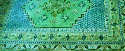 Persian Rug Art Print by Unique Consignment