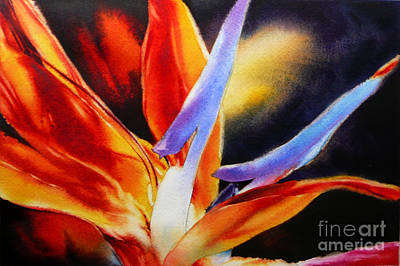 Painting - Petal Light II by Arena Shawn