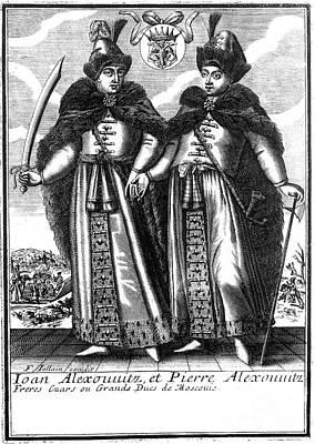 Peter I & Ivan V Art Print