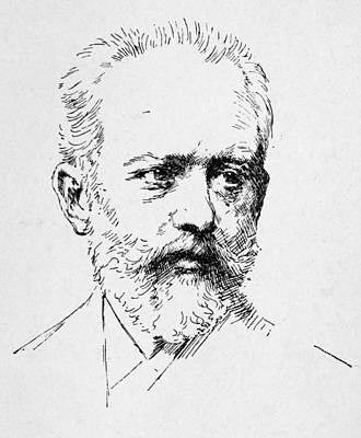 Peter Ilich Tchaikovsky Art Print by Granger