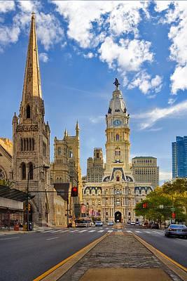 City Council Photograph - Philadelphia City Hall  by Susan Candelario