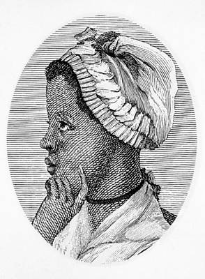 Phillis Wheatley 1753-1784, The First Art Print by Everett