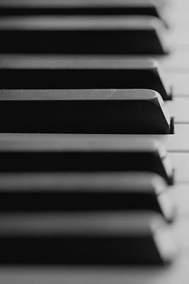 Tasten Photograph - Piano Keys by Falko Follert