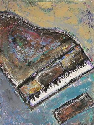 Painting - Piano Study 8 by Anita Burgermeister