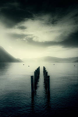 Buoys Photograph - Pier by Joana Kruse