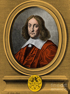 Pierre De Fermat, French Mathematician Print by Photo Researchers, Inc.