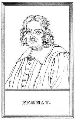 Pierre De Fermat, French Mathematician Art Print