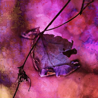 Tangerine Painting - Love Hangs On by Bonnie Bruno