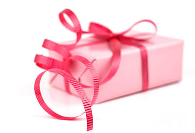 Pink Gift Art Print
