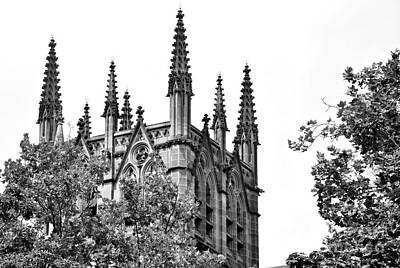 Pinnacles Of St. Mary's Cathedral - Sydney Art Print