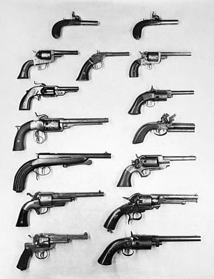 Photograph - Pistols And Revolvers by Granger
