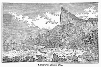 Photograph - Pitcairn Island, 1855 by Granger
