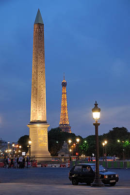 Photograph - Place De La Concorde by Steven Richman