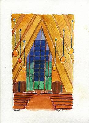 Placerville Chapel Art Print