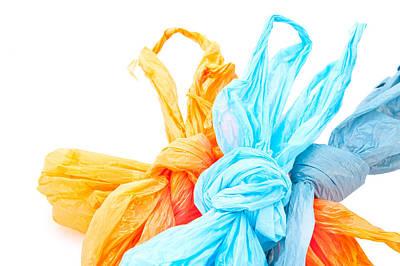 Plastic Bags Art Print