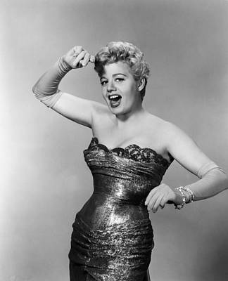 Playgirl, Shelley Winters, 1954 Art Print by Everett