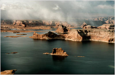 Photograph - Podre Bay - Lake Powell by Gary Rose