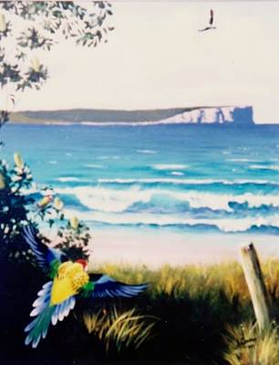 Painting - Point Perpendicular by Anne Gardner