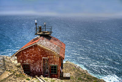 Point Reyes Lighthouse Art Print by Diego Re