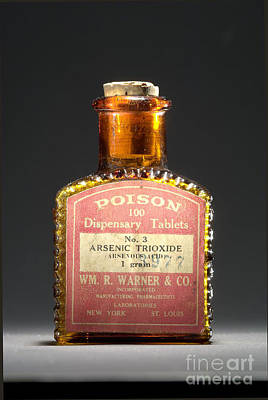 Poison, Circa 1900 Art Print by Science Source
