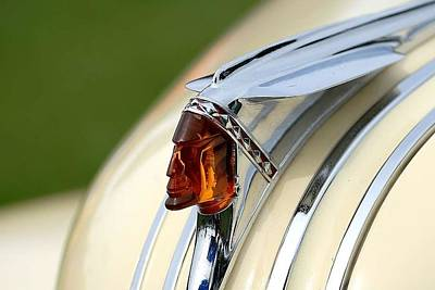 Pontiac Chief Hood Ornament Art Print