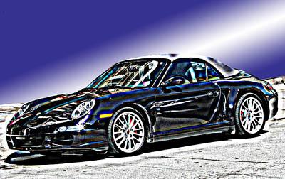 Porsche 911 Carrera Art Print by Samuel Sheats