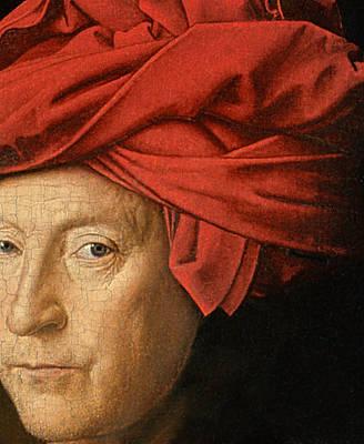 Rap Painting - Portrait Of A Man by Jan van Eyck
