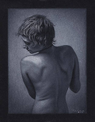 Posterior Nude Art Print by Tyler Smith