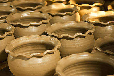 Pottery In Thailand  Art Print
