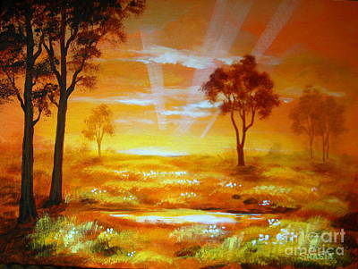 Prairie  Dawn Art Print