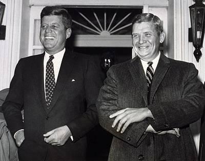 President-elect John F. Kennedy Print by Everett
