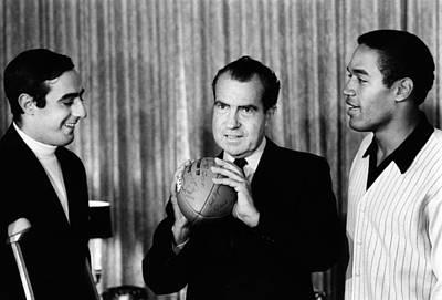 President-elect Richard Nixon Art Print