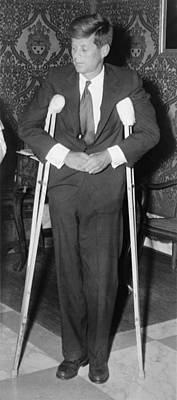 Back Injury Photograph - President John F. Kennedy 1917-1963 by Everett
